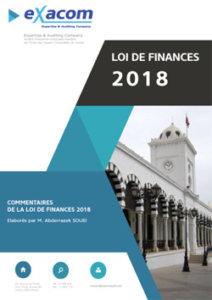 Commentaires de la loi de finances 2018